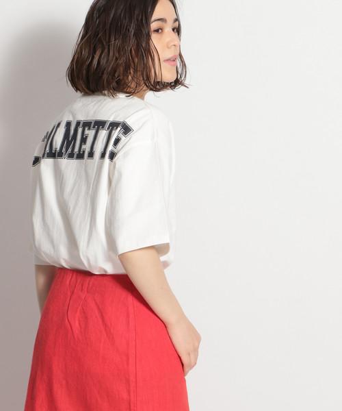 [niko and...] バックロゴワイドTシャツ