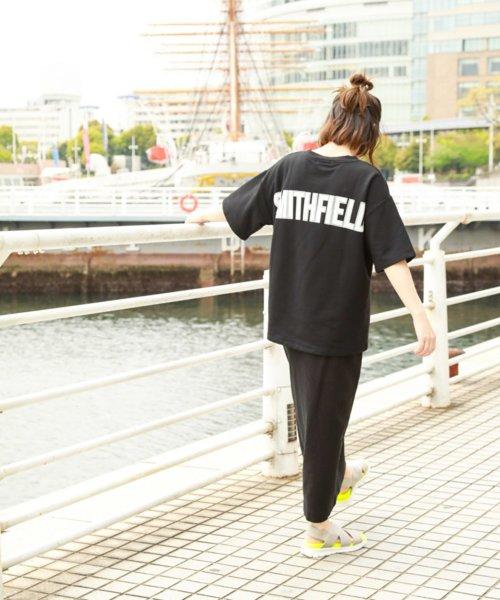 [niko and...] バックロゴワイドTシャツ2