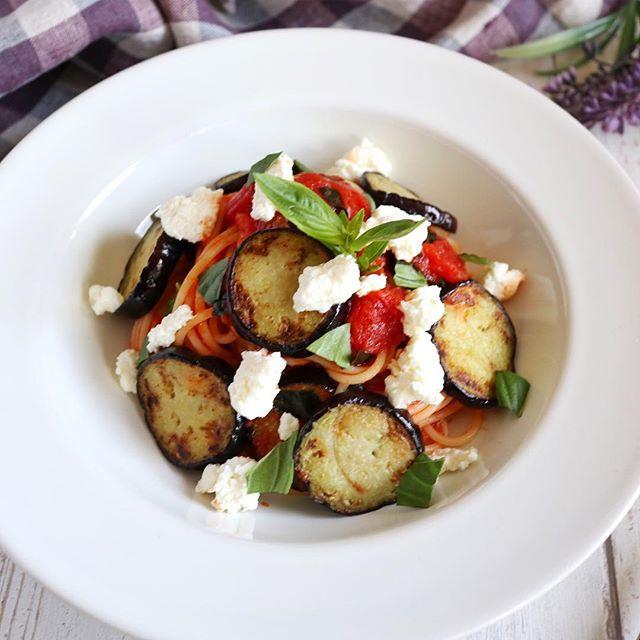 野菜 トマトソース パスタ4