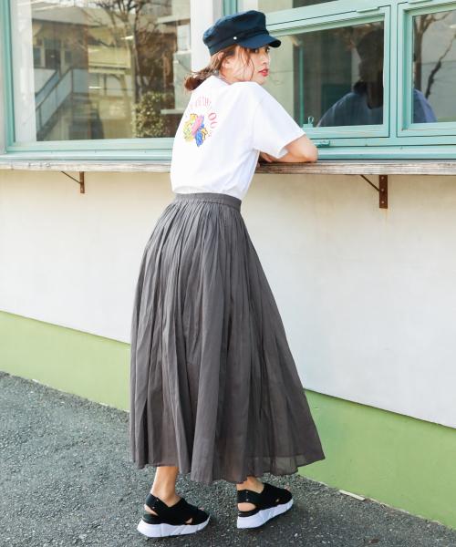 6[BAYFLOW] ハシゴレーススカート