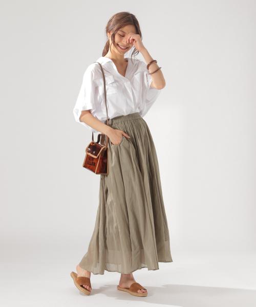 5[BAYFLOW] ハシゴレーススカート