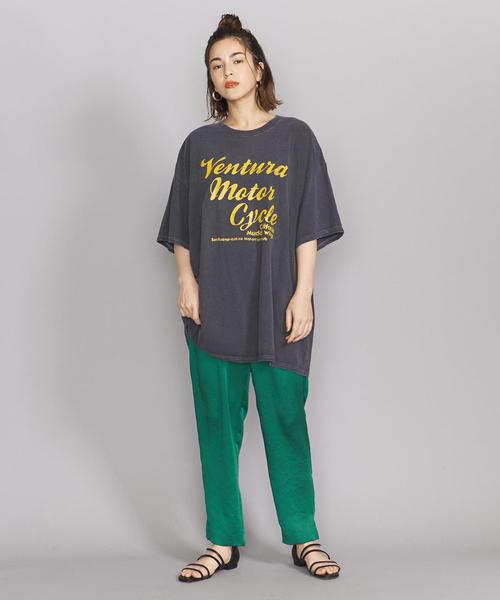 [BEAUTY&YOUTH UNITED ARROWS] <GOOD ROCK SPEED>ピグメントショートスリーブTシャツ