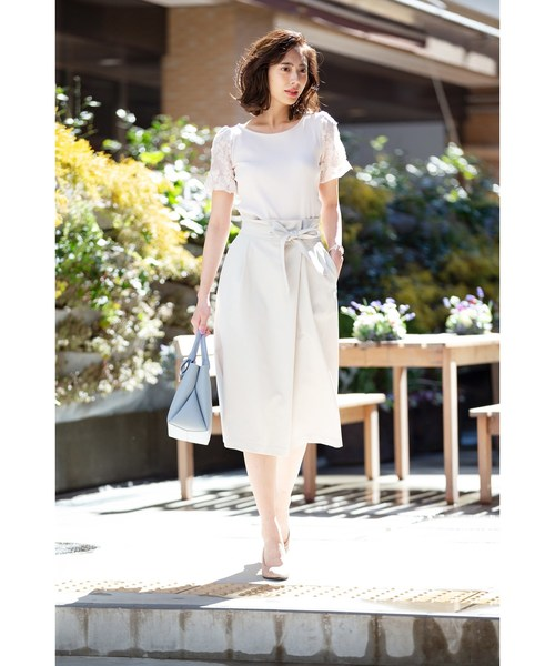 [index] 【洗える・吸水速乾】ラップタイトスカート