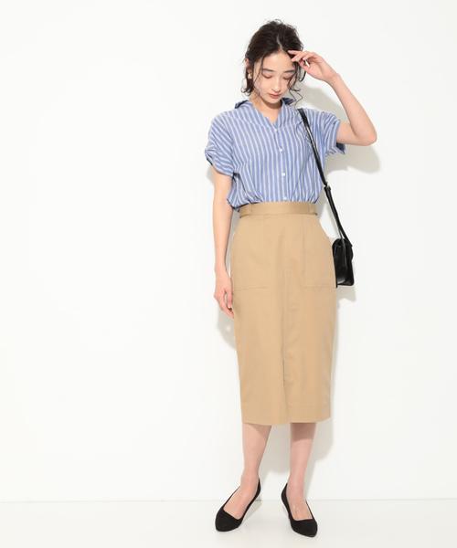 [ViS] センタースリットIラインスカート