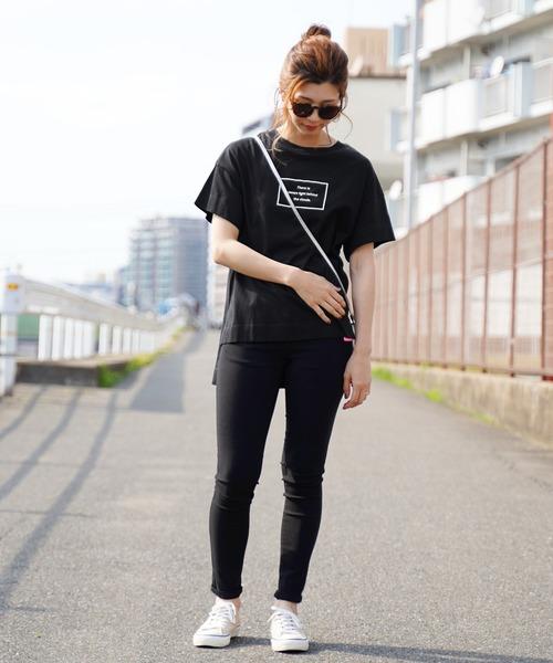 [reca] コットンロゴTシャツ2