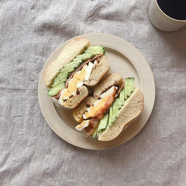 おしゃれ サンドイッチ 卵10