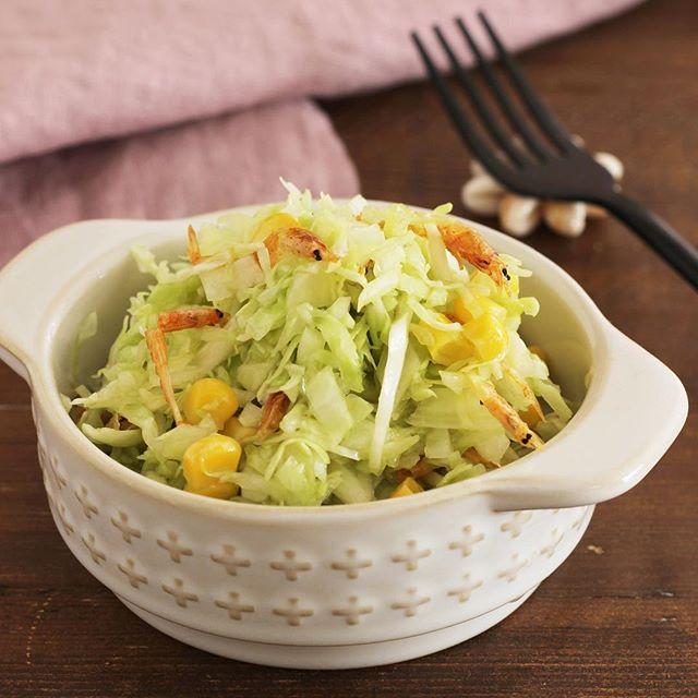 水菜の和風サラダ 煮込みハンバーグに合うおかず