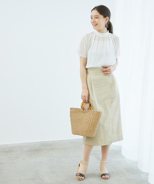 ラップ風アイラインスカート