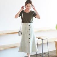 穿くだけでおしゃれが叶う♡「ラップスカート」を取り入れた大人コーデをご紹介!