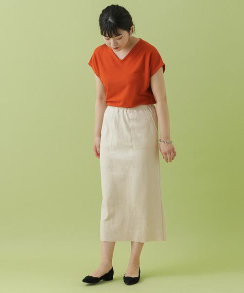 [ITEMS URBANRESEARCH] ヘンケイワッフルタイトスカート