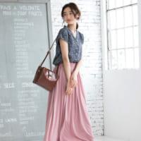 【5000円以下】毎日着たいからプチプラでGET!マキシスカートで作る夏スタイル
