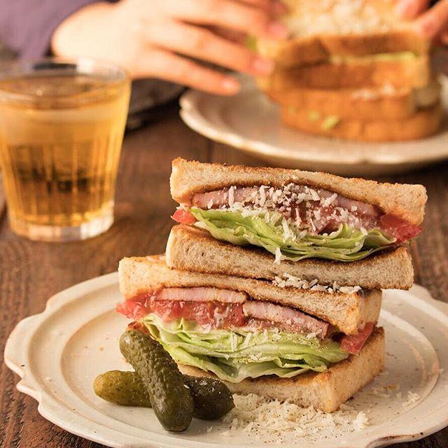 おしゃれ サンドイッチ 肉4