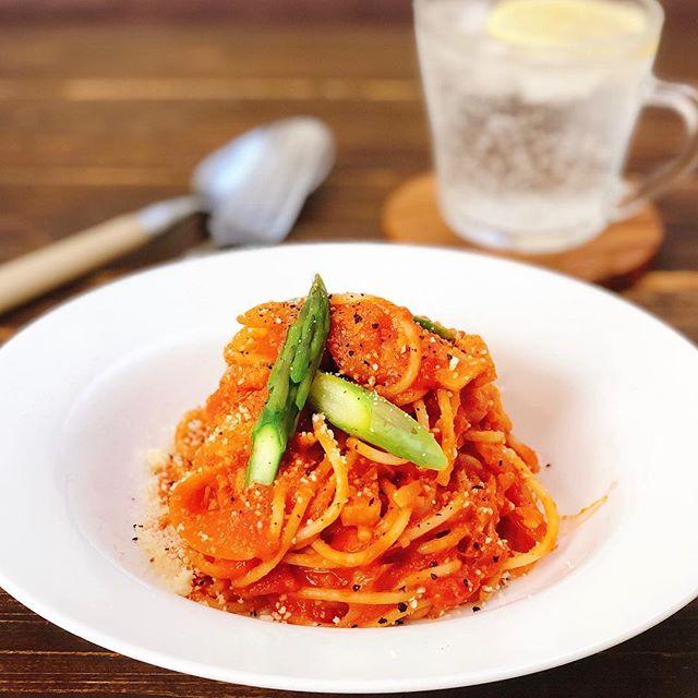 トマト 大量消費 レシピ パスタ