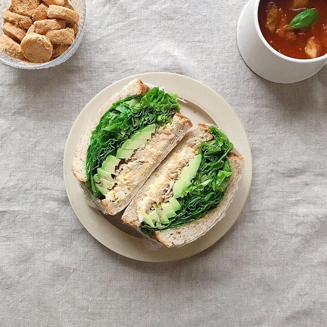 おしゃれ サンドイッチ 魚9