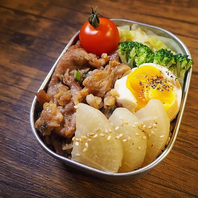 大根の簡単レシピ お弁当 作り置き