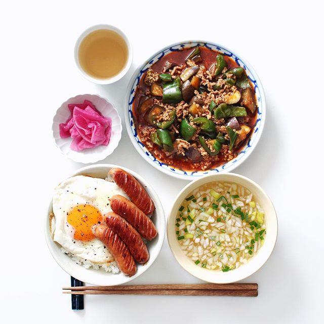 夏 中華風スープ
