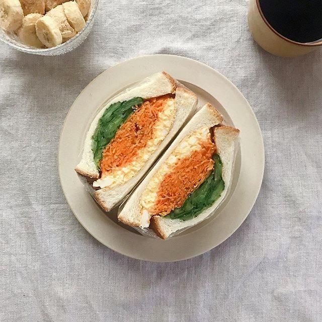おしゃれ サンドイッチ 卵7