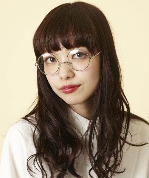 [MEMENTISM] ME-10W 丸めがね 丸眼鏡 伊達メガネ だて眼鏡