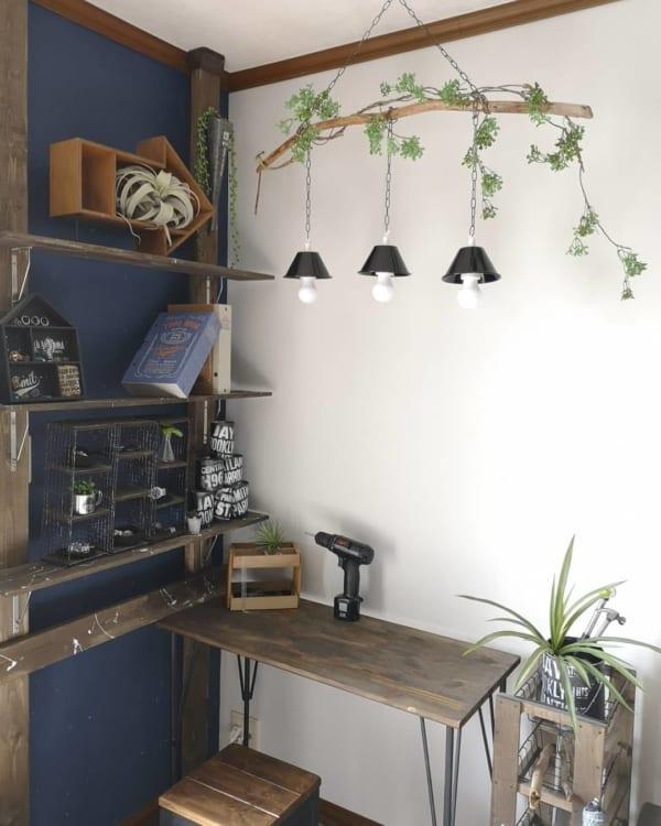ライト&ランプシェードの100均DIY4