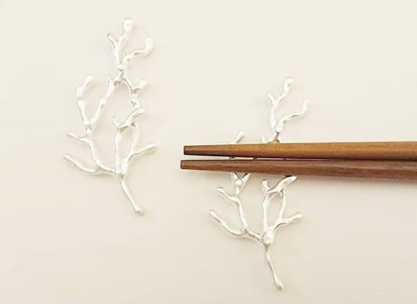 美しすぎる☆ナチュラルキッチンの珊瑚の箸置き
