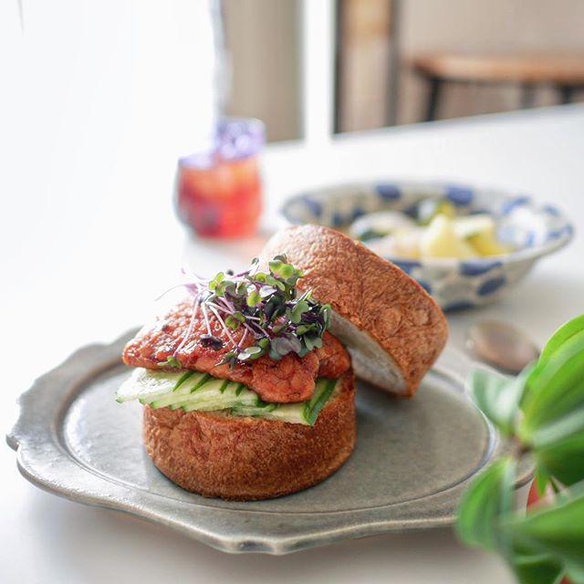 おしゃれ サンドイッチ 魚2