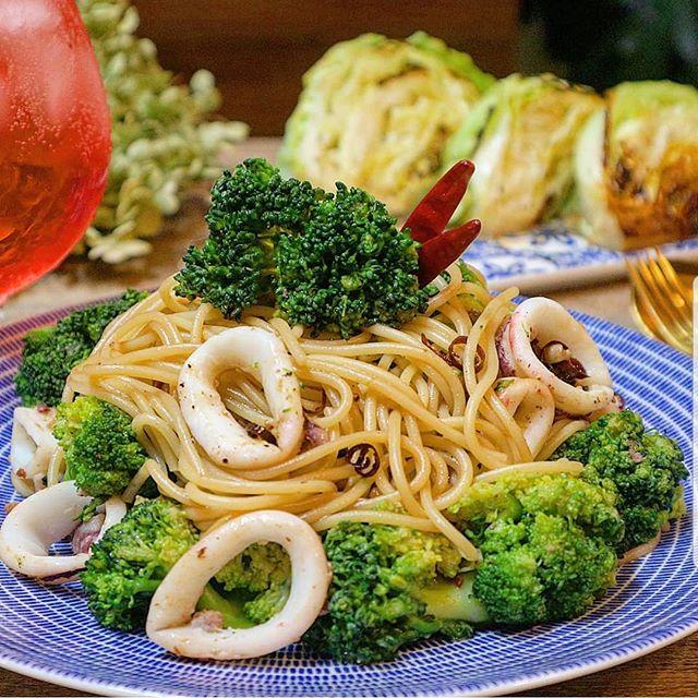 野菜 オイル パスタ5