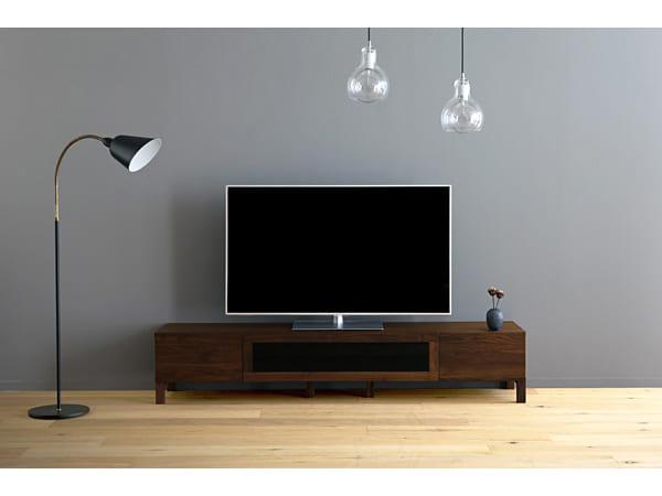 テレビボードをおしゃれに取り入れたインテリア9
