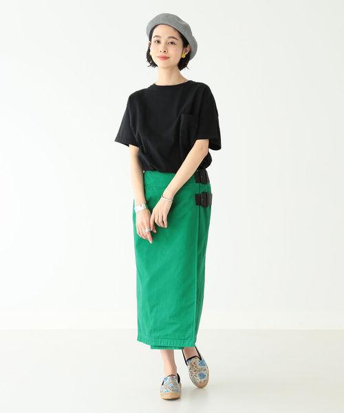[BEAMS WOMEN] Goodwear / カスタム ビッグ 半袖 Tシャツ
