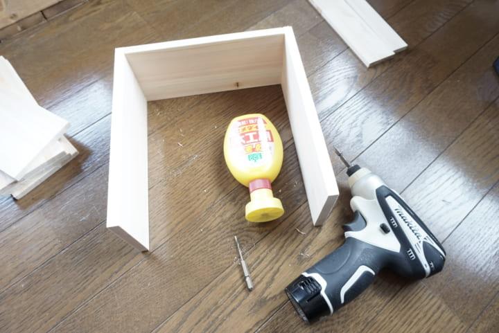 整理ケース DIY2