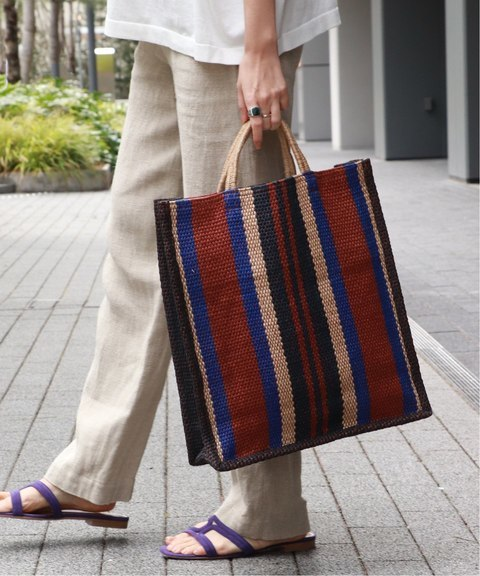 MaisonBengal - ストライプバッグ
