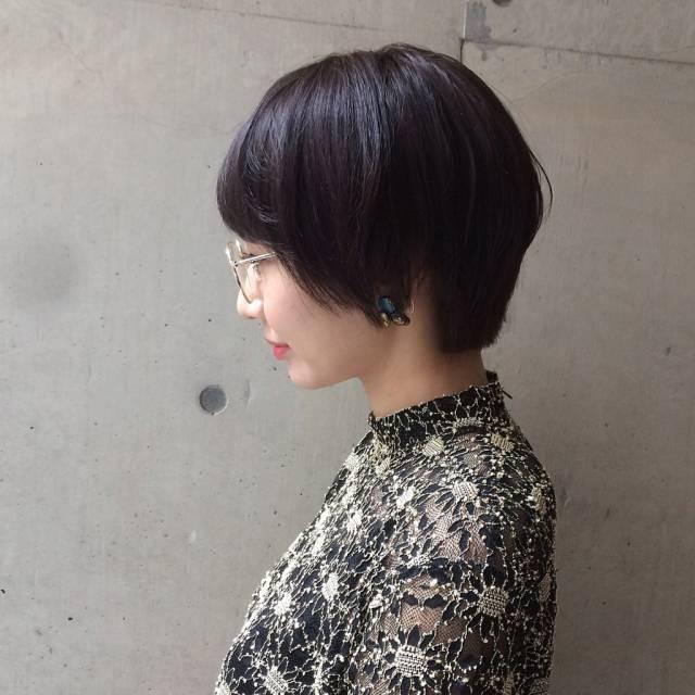 黒髪ショートボブ(大人アレンジ)2