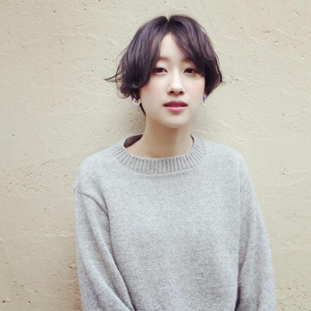 黒髪ショートボブ(大人アレンジ)11