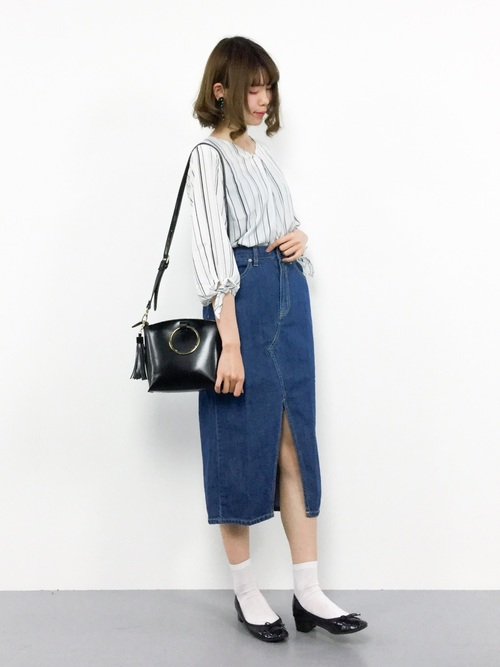 WEGO/ロングスリットタイトスカート