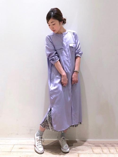 [YECCA VECCA] パイソンプリーツスカート