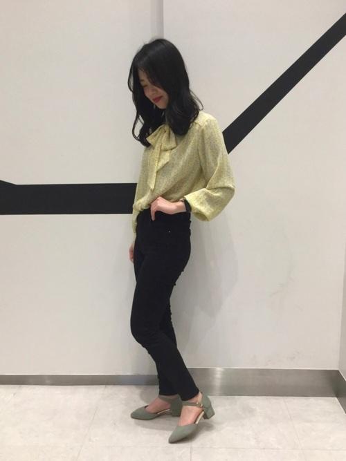 [ORiental TRaffic] 春夏新作★セパレートパンプス★9121 2