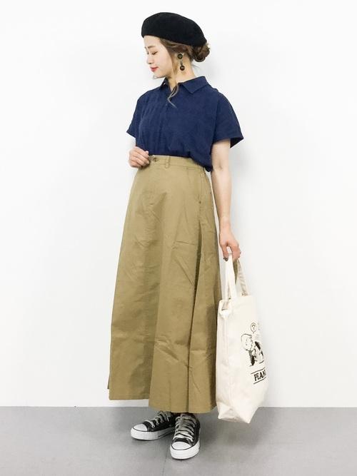 [studio CLIP] メッシュジャガードボーダーポロシャツ12