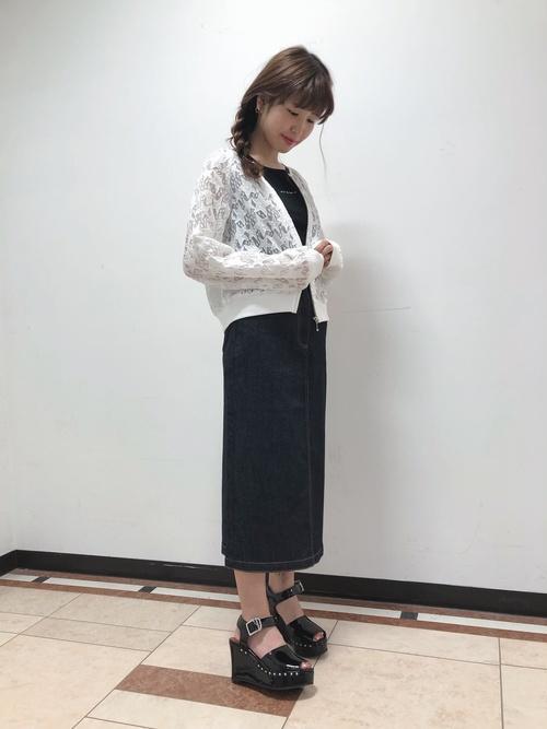 JUPE デニムスカート