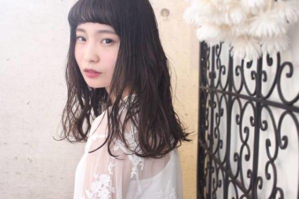 オン眉×黒髪ロング8