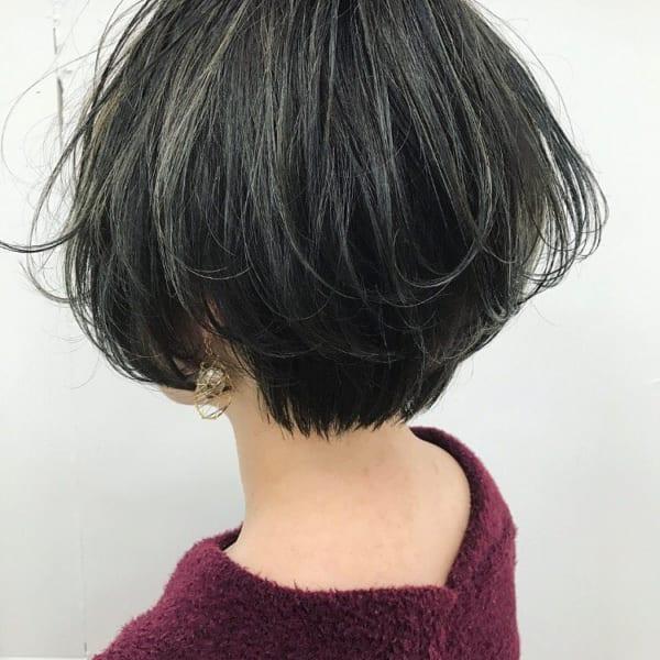 黒髪 グラデーション2