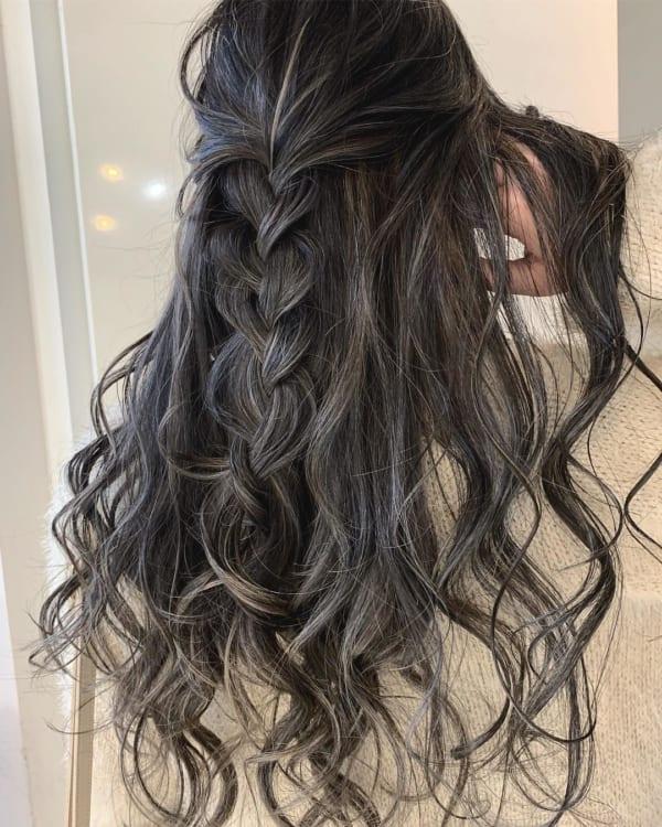 黒髪 グラデーション28