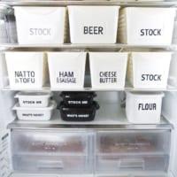 スッキリとした見た目で省スペースに!冷蔵庫のドリンク・食品収納術