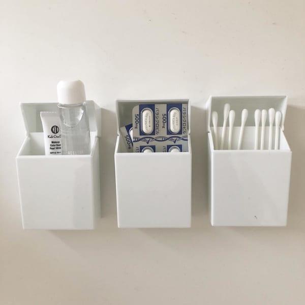 セリアのプラスチックたばこケース