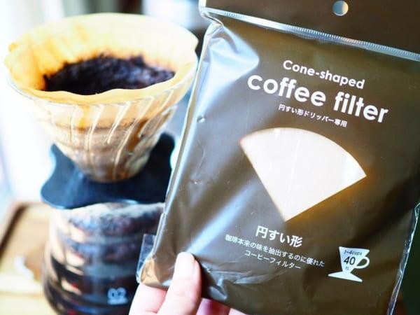 セリア コーヒーフィルター