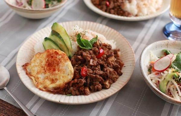 合挽き肉の簡単レシピ3