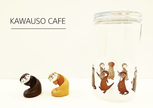 KAWAUSO CAFE洗面小物入れ(キャンドゥ)
