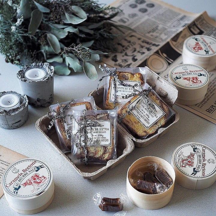 ラ・メゾン・ダルモリーヌ 塩バターキャラメル