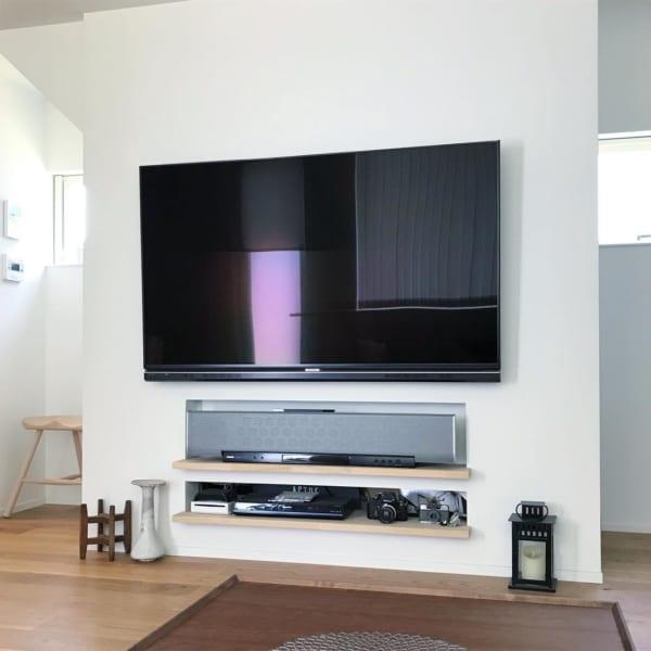 テレビボードをおしゃれに取り入れたインテリア16