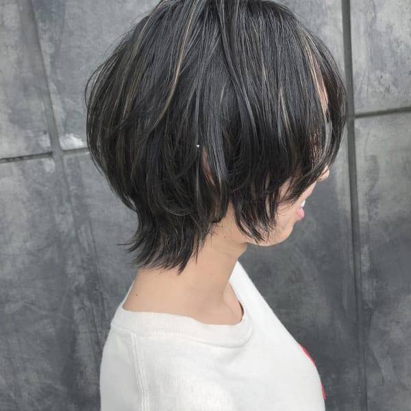 黒髪 グラデーション13