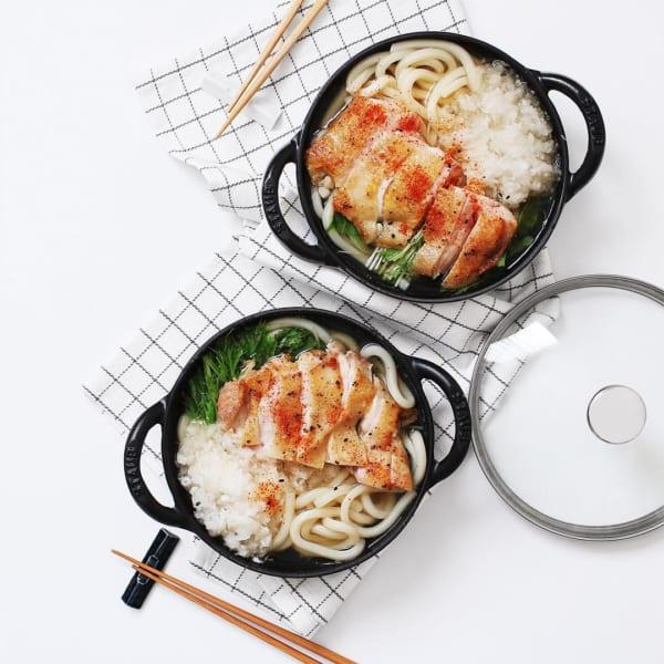 うどん 簡単 アレンジ レシピ2