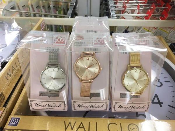 WristWatchシリーズのレディース腕時計